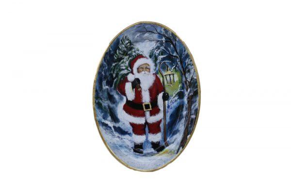 bandeja alargada decorativa navidad